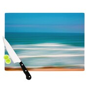 KESS InHouse Sun And Sea by Ann Barnes Cutting Board; 8.25'' x 11''