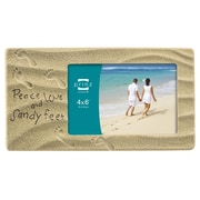 Prinz Sandy Sentiments 'Peace Love And Sandy Feet' Picture Frame