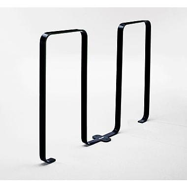 Frost 5 Bike Freestanding Bike Rack; Black
