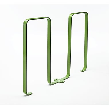 Frost 5 Bike Freestanding Bike Rack; Green