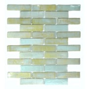 Abolos Bamboo 1'' x 4'' Glass Mosaic Tile in Nile