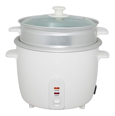 Wee's Beyond Electric Rice Cooker w/ Steamer Cup; 8 Cups WYF078278382287