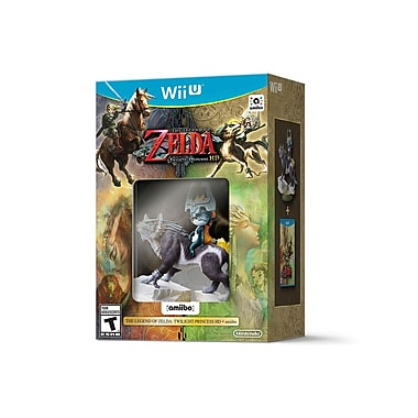 Nintendo Wii-U – Jeu The Legend Of Zelda Twilight Princess HD avec/ Amiibo