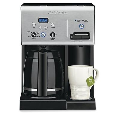 Cuisinart – Cafetière programmable 12 tasses avec distributeur d'eau chaude (CHW-12C)