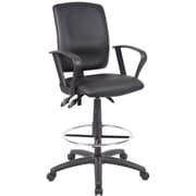 Multi-Functional Drafting Chair, Black