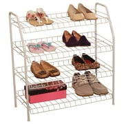 Wee's Beyond 4 Tier Shoe Rack; White