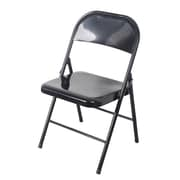 Wee's Beyond Heavy Duty Armless Stacking Chair; Black