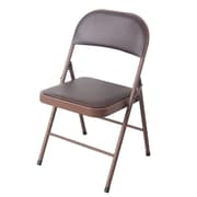 Wee's Beyond Heavy Duty Armless Stacking Chair; Brown