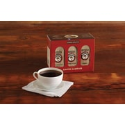 Harry and David Coffee Sampler, Caffeinated, Assorted Flavors, 1.8oz Bags, 6 Bags/Pack (27443X)