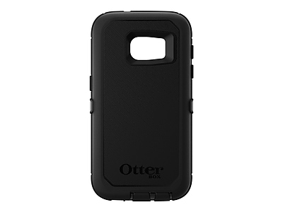 Otter Box Defender Series Protective Case for Galaxy S7, Black (77-52909)