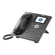 HP® Unified 4120 IP Phone, Corded, Office Phones, Black