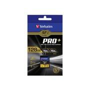 Verbatim® 49198 ProPlus UHS-I U3 Class 10 128GB SDXC Memory Card