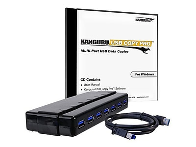 Get Kanguru CopyPro Software with 10 Port USB 3.0 Hub, Windows (KCP-U3) Before Too Late