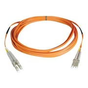 Tripp Lite N520 20' LC Male/Male Duplex 50/125 OM2 Multimode Fiber Optic Patch Cable, Orange