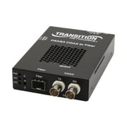 TRANSITION NETWORKS Media Converter SCSCF3014-110-NA 2 Coax to 1310NM