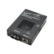 Transition Networks® SGETF1013-110 2 Port RJ45 to SC Stand Alone Gigabit Ethernet Media Converter