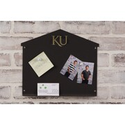 HensonMetalWorks University of Kansas Collegiate Logo Small Magnetic Message Memo Board