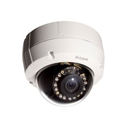 D-Link® DCS-6513 Wired Day/Night Outdoor Dome Network Camera, White