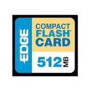 Edge™ PE179502 Digital Media 512MB Compact Flash Card