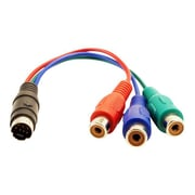 VisionTek® mini-DIN Male to RCA Female Component Video Adapter Cable