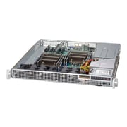 Supermicro® SuperChassis 2 x Bay 1U Rack-Mountable Server Chassis (CSE-514-R400C)