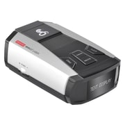 "Cobra® Ultra-High-Performance Radar/Laser Detector with 1"" White OLED Display & Voice Alert, Black/Silver (SPX 6700)"