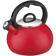 Cuisinart® Chef's Classic™ Stainless Steel Aura Enamel Teakettle, 2 qt, Red (CTK-EOS17)
