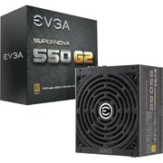 EVGA® SuperNOVA G2 ATX12V & EPS12V Fully-Modular Power Supply, 550 W (220-G2-0550-Y1)