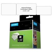 "dnpDymo® LabelWriter 30387 2 5/16"" Internet Postage Confirmation Label, White, 100 Labels per Roll"