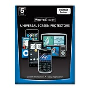 Fellowes® WriteRight Universal Screen Protector for Cellular Phone, 5/Pack (9689901)