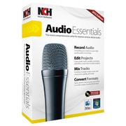 NCH Software® Audio Essentials - Audio Editing Software, Windows, CD-ROM (RET-AE001)