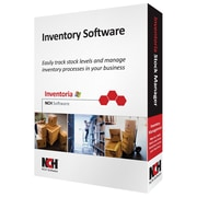 NCH Software® Inventoria Inventory Software, Windows, CD-ROM (RET-INVW001)