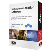 NCH Software® PhotoStage - Video Editing Software, Windows, CD-ROM (RET-PSW001)