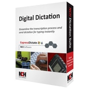 NCH Software® Digital Dictation Transcription Management Software Suite, Windows/Mac (RET-DIC001)