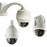 BOSCH VG5-161-CT0 AutoDome 100 Wired Indoor/Outdoor Dome Surveillance Camera, White