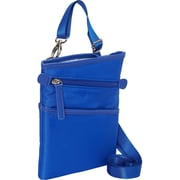 "Women in Business Dallas City Blue Microsuede Slim Cross Body Bag For 7"" Tablet"