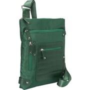 "Women in Business Phoenix City Green Nylon Slim Shoulder Bag For 14"" Laptop"