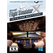 Mad Catz® Microsoft® Flight Simulator X: Steam Edition Game Software, Windows, Download (FSX43SW100SWAO)