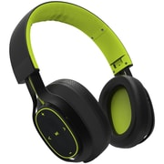 BlueAnt PUMP Zone Wired/Wireless Over-the-Head Stereo Headphones with Mic, Green