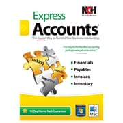 NCH Software® Express Accounts Accounting Software, Windows (RET-EA001)