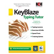NCH Software® Keyblaze Typing Tutor & FastFox Text Expander Bundled Software, Windows/Mac (RET-KB001)