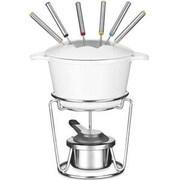 Cuisinart® 13-Piece Cast Iron Fondue Set, White