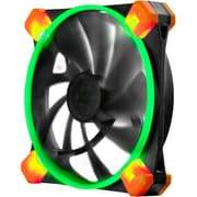 Antec® TrueQuiet 120 UFO Green LED Cooling Fan for Computer Cases, Black (TRUEQUIET120UFOGREEN)