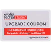 Badgy Badge Studio Software, 1 User, Windows/Mac OS (BS1UPG011)