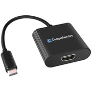 Comprehensive® Type-C USB 3.1/HDMI Male/Female Adapter Cable, Black