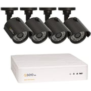 Q-See® QTH8-4Z3-1 Wired Indoor/Outdoor 8 Channel HD Security System with 4 HD 720p Cameras, Black