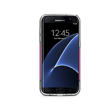 Puregear DualTek Pro GS7 Edge Phone Case, Pink/Clear