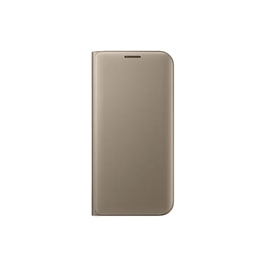 Samsung Flip Wallet GS7 Edge Phone Case, Black