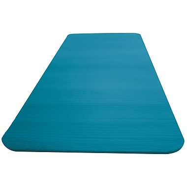 Empower – Tapis d'entraînement de luxe avec sangle de transport, bleu sarcelle, MP-2970R