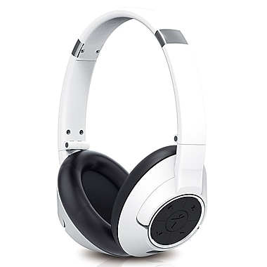Genius HS-930BT Wireless Bluetooth Headset, White